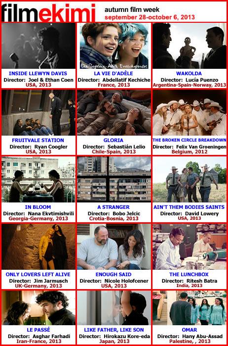 Filmekimi 2013 Programım