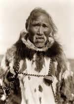 yaşlı bir eskimo